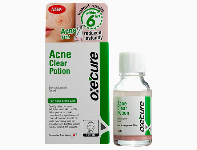 Routine for clear skin: Oxecure Acne Clear Potion