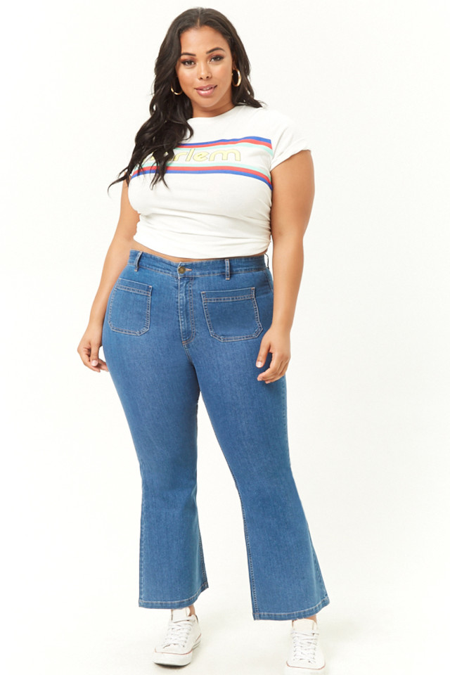 Forever 21 Flare Jeans