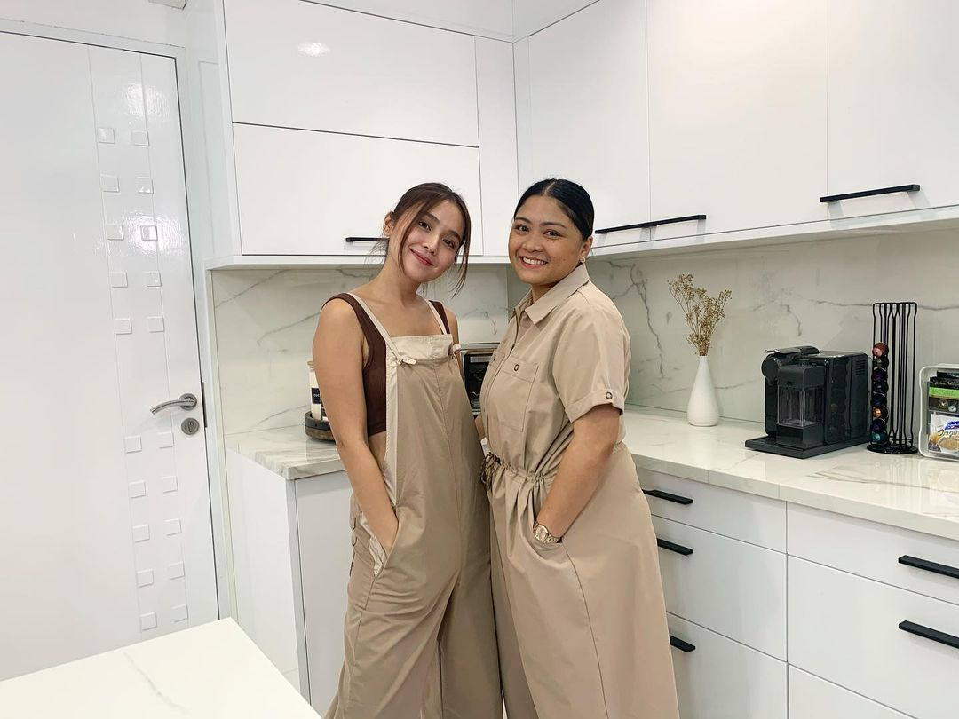 Kathryn Bernardo's kitchen makeover