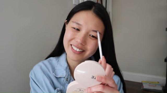 K-drama main character makeup tutorial: Brows