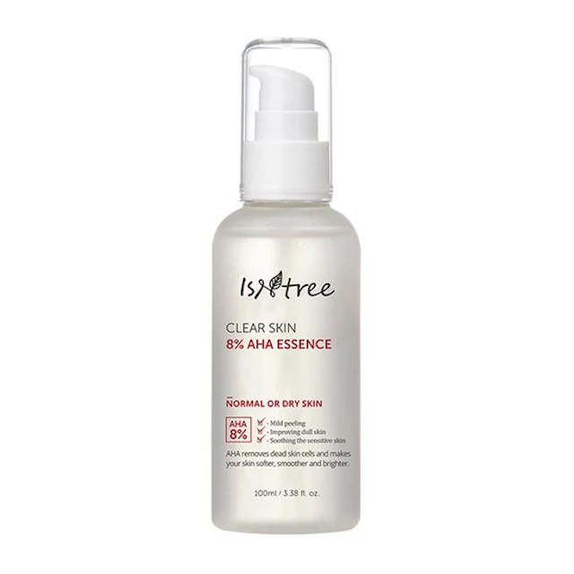 Best Face Serum: Isntree Clear Skin 8% AHA Essence