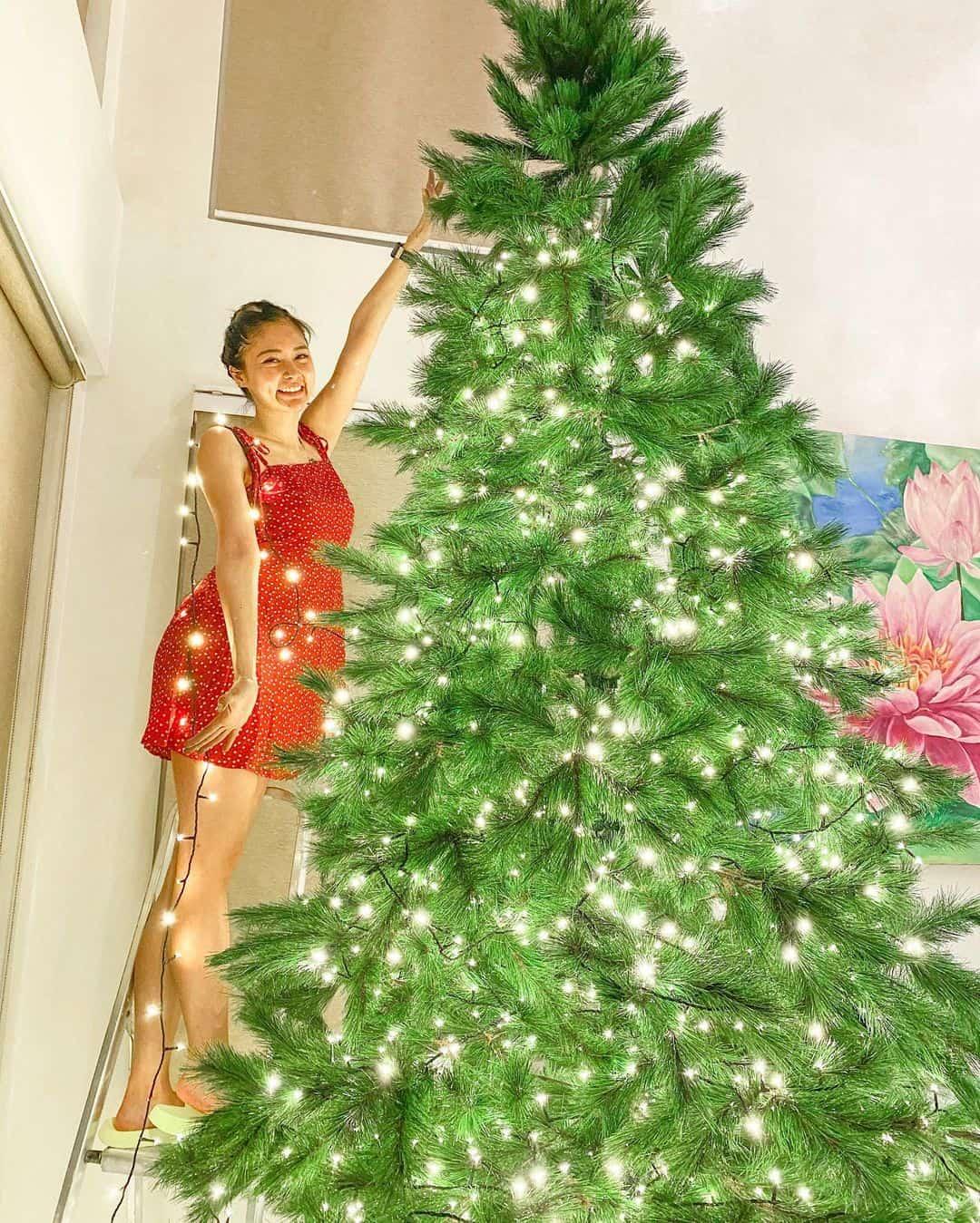 Kim Chiu's 2020 Christmas tree