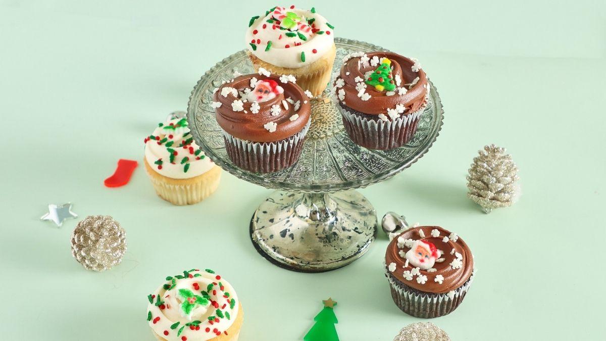 M Bakery's Christmas Cupcakes