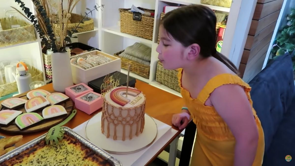 Ellie Eigenmann's 9th birthday celebration
