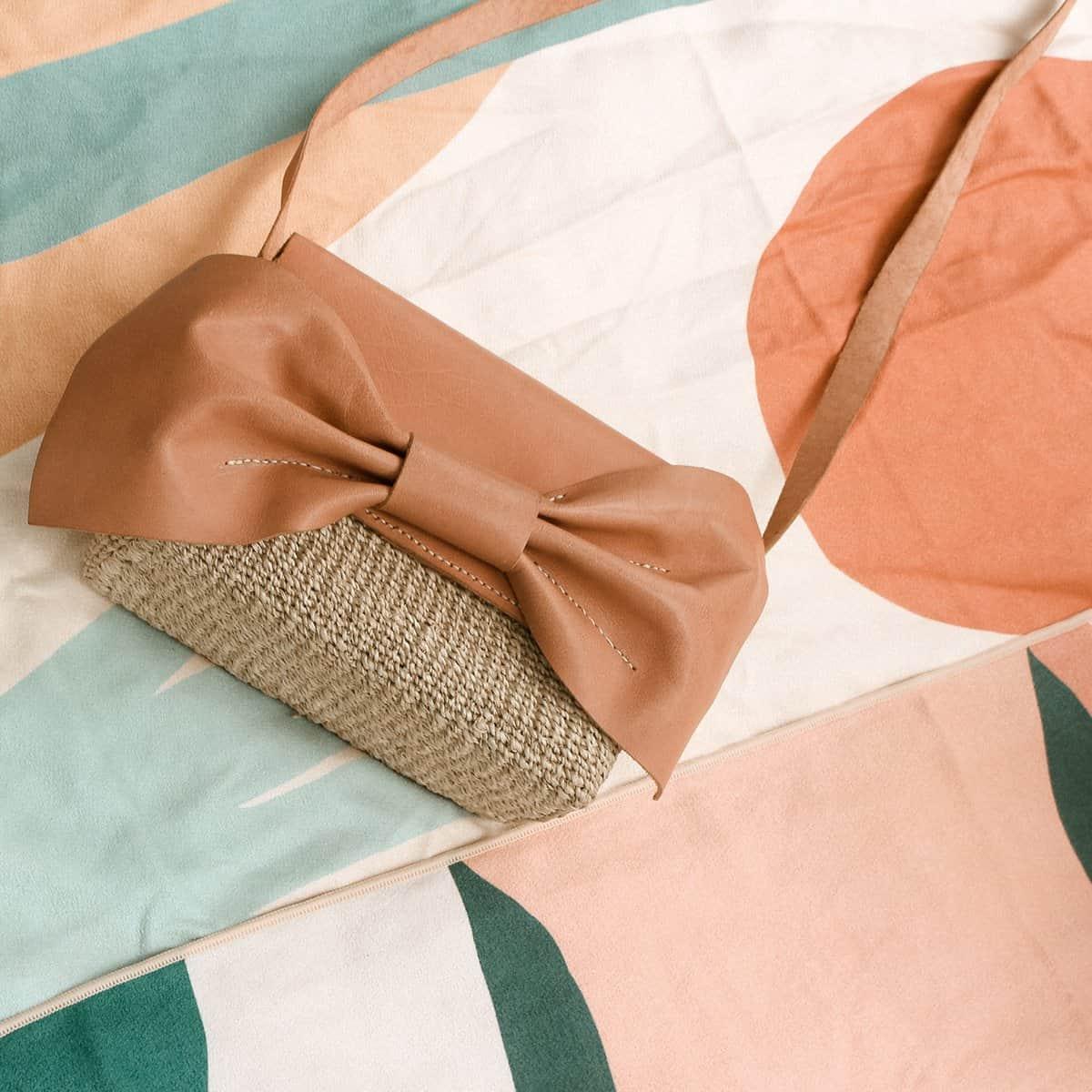 Frankie & Friends: leather bag