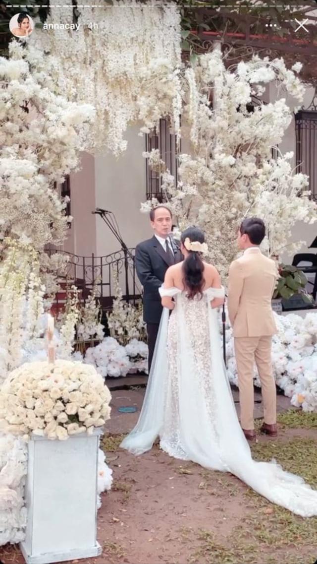 Anna Cay and Geloy Villalobos wedding