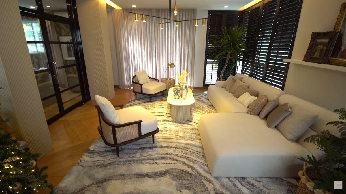 Solenn Heussaff, Nico Bolzico: living room makeover