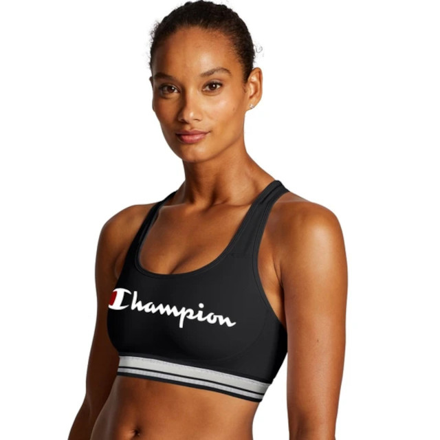 Champion Womens The Absolute Workout Sports Bra - Script Logo