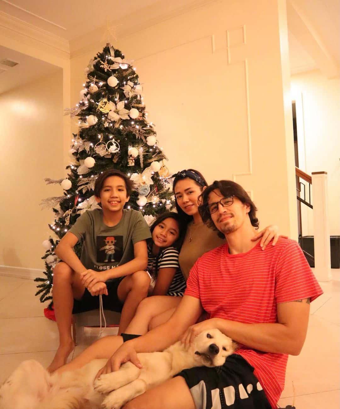 Danica Sotto-Pingris' 2020 Christmas tree