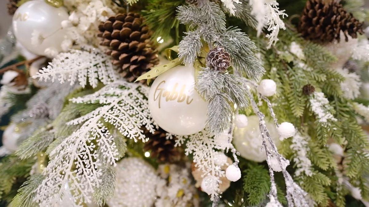 Gabbi Garcia's 2020 Christmas tree