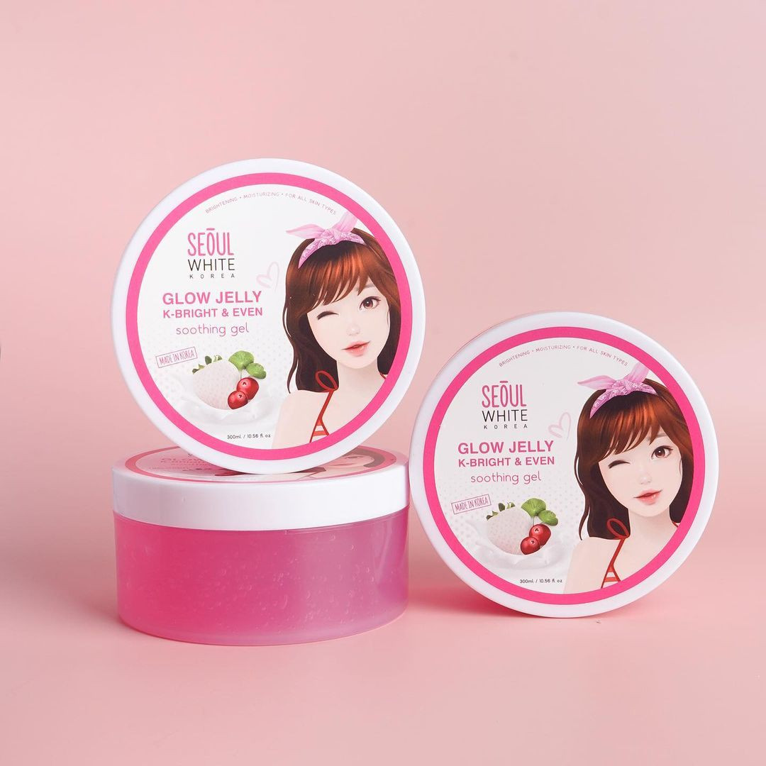 How to brighten underarms: Seoul White Korea Glow Jelly K-Bright + Even Soothing Gel,