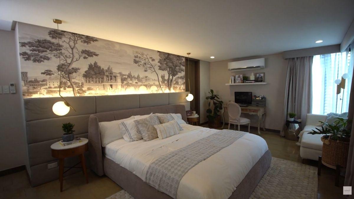 Solenn Heussaff and Nico Bolzico's bedroom makeover
