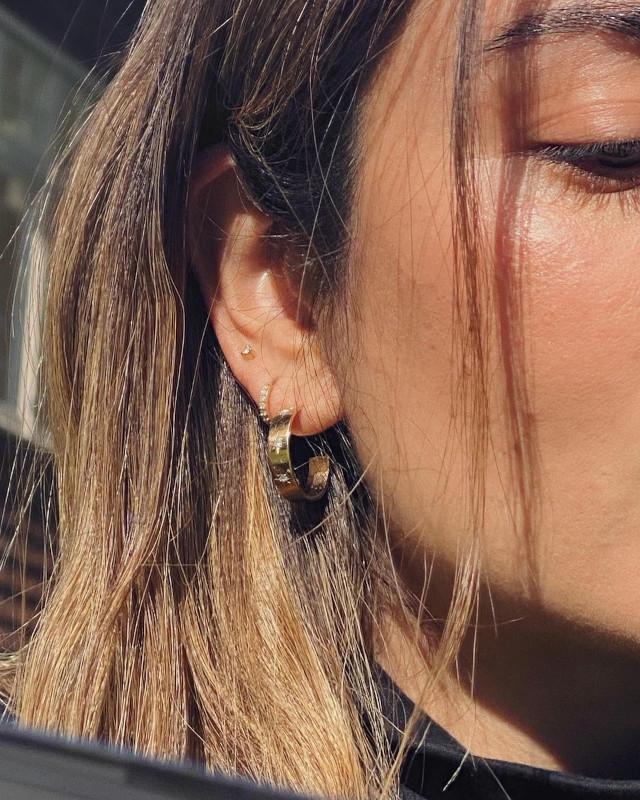 Mari Jasmine's Ear Piercings