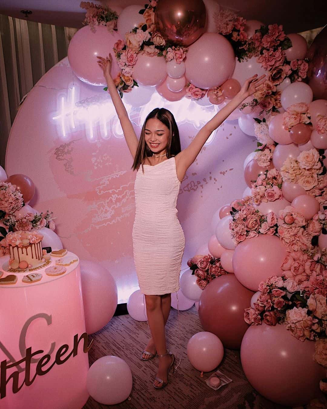 AC Bonifacio's all pink 18th birthday party