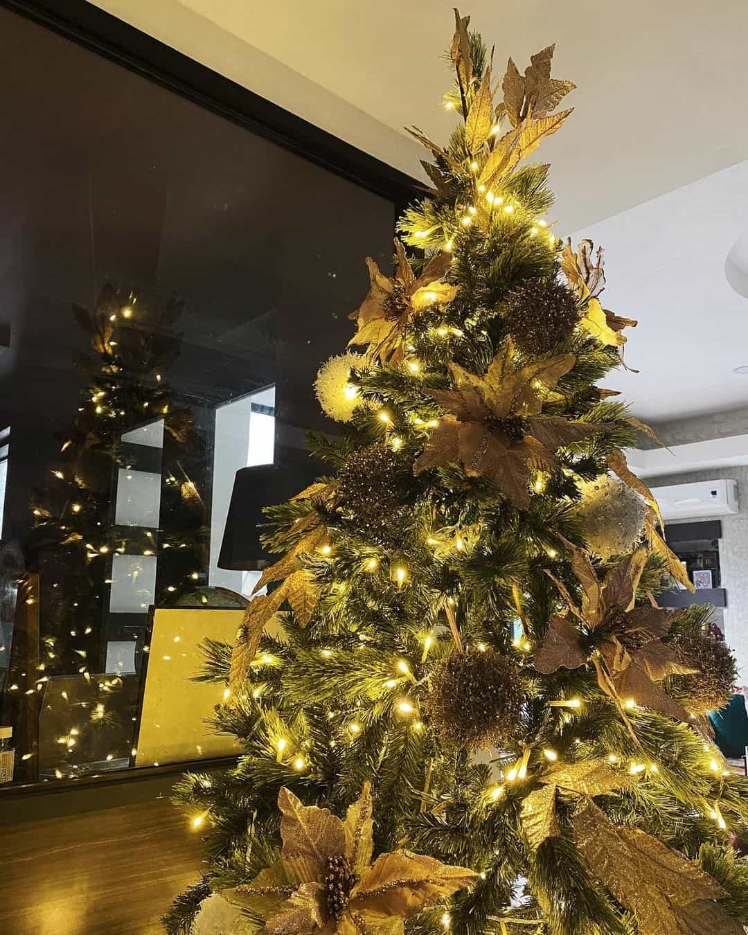 Yassi Pressman's 2020 Christmas tree