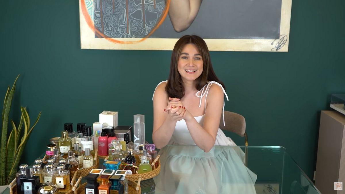 Bea Alonzo's perfume collection