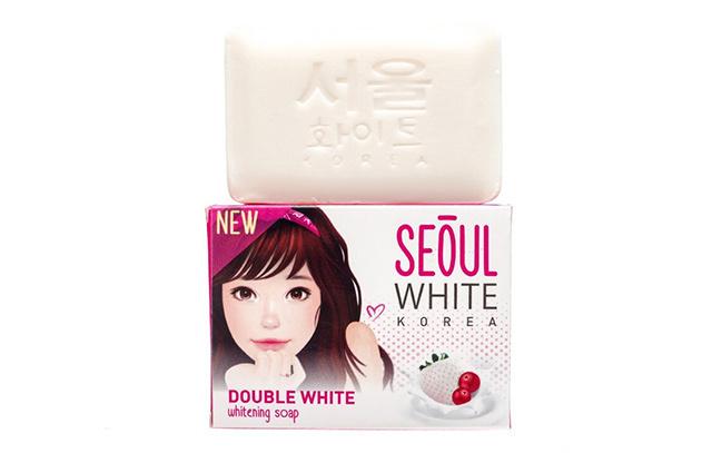 How to brighten elbows and knees: Seoul White Korea Double White Whitening Soap