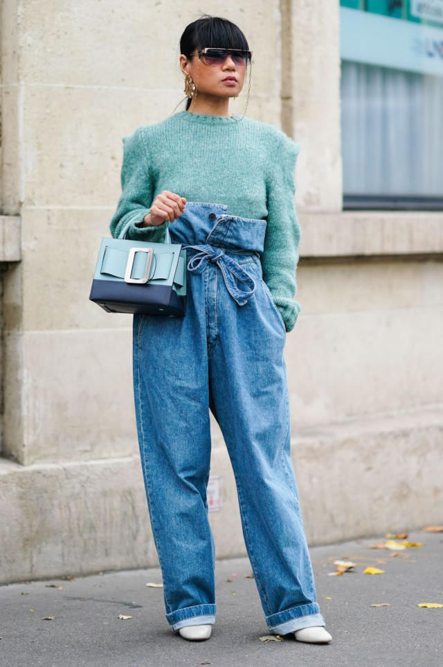 how to cuff jeans