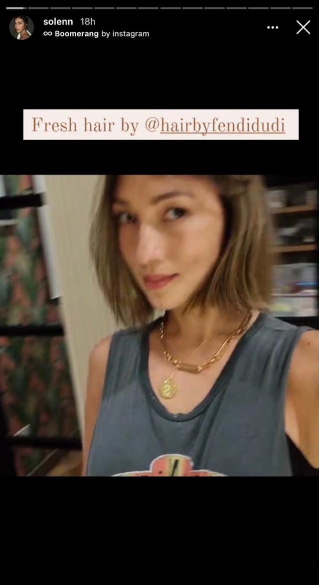 Solenn Heussaff Short Hair 2020