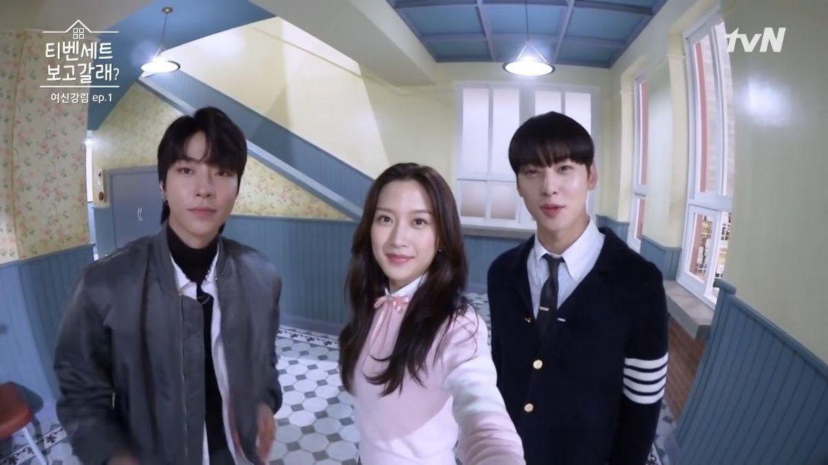True Beauty drama set behind-the-scenes
