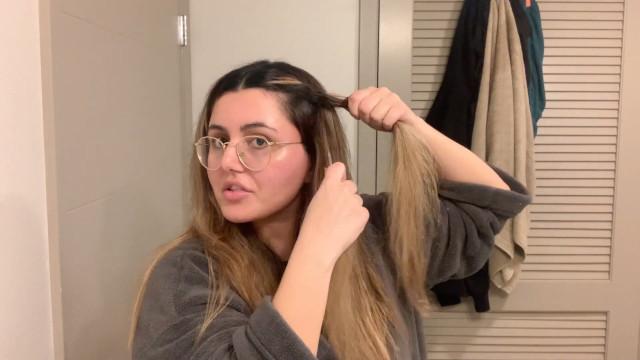 Heatless waves hair tutorial