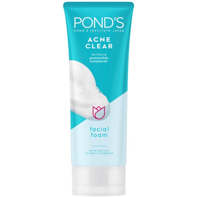 Acne-Prone Skin Cleanser: Pond's Acne Clear Anti-Acne Facial Foam