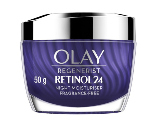 How to get rid of acne scars and marks: Olay Regenerist Retinol24 Night Moisturiser Fragrance-Free