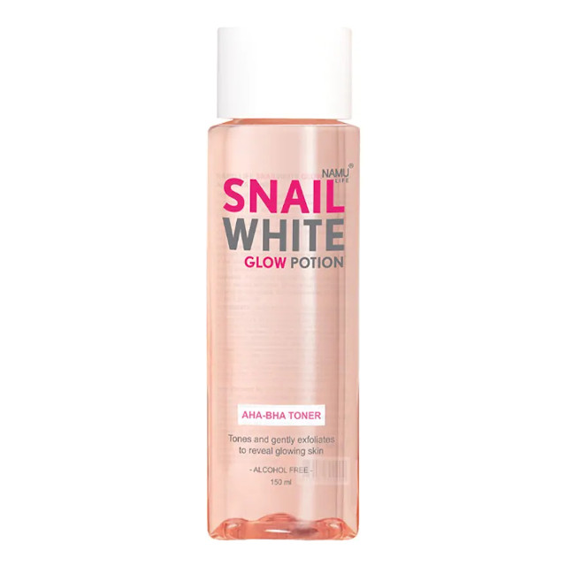 How to get rid of acne scars: SNAILWHITE Glow Potion AHA-BHA Toner