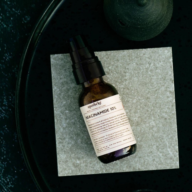 Best Face Serum Under P500: Apotheke Niacinamide 10%