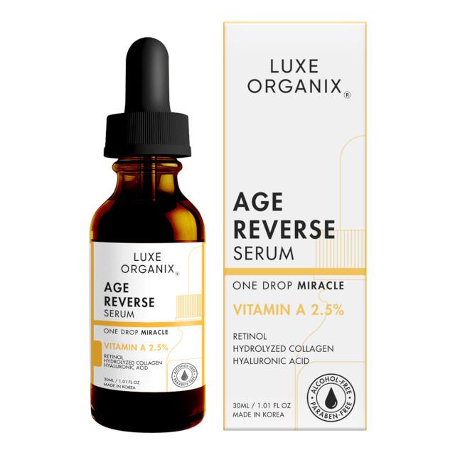 Best Face Serum Under P500: Luxe Organix Retinol 2.5% Age Reverse Serum