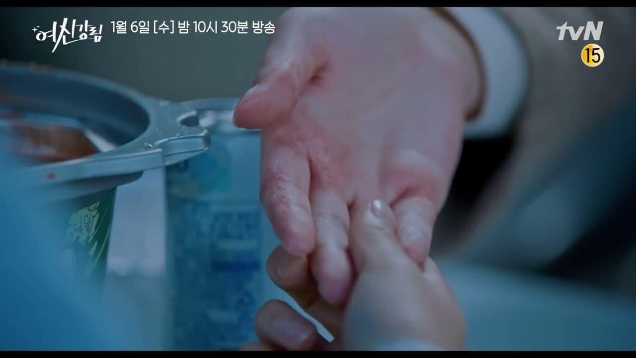 Ju Kyung notices Kang Su Jin's hands.- Scene 1