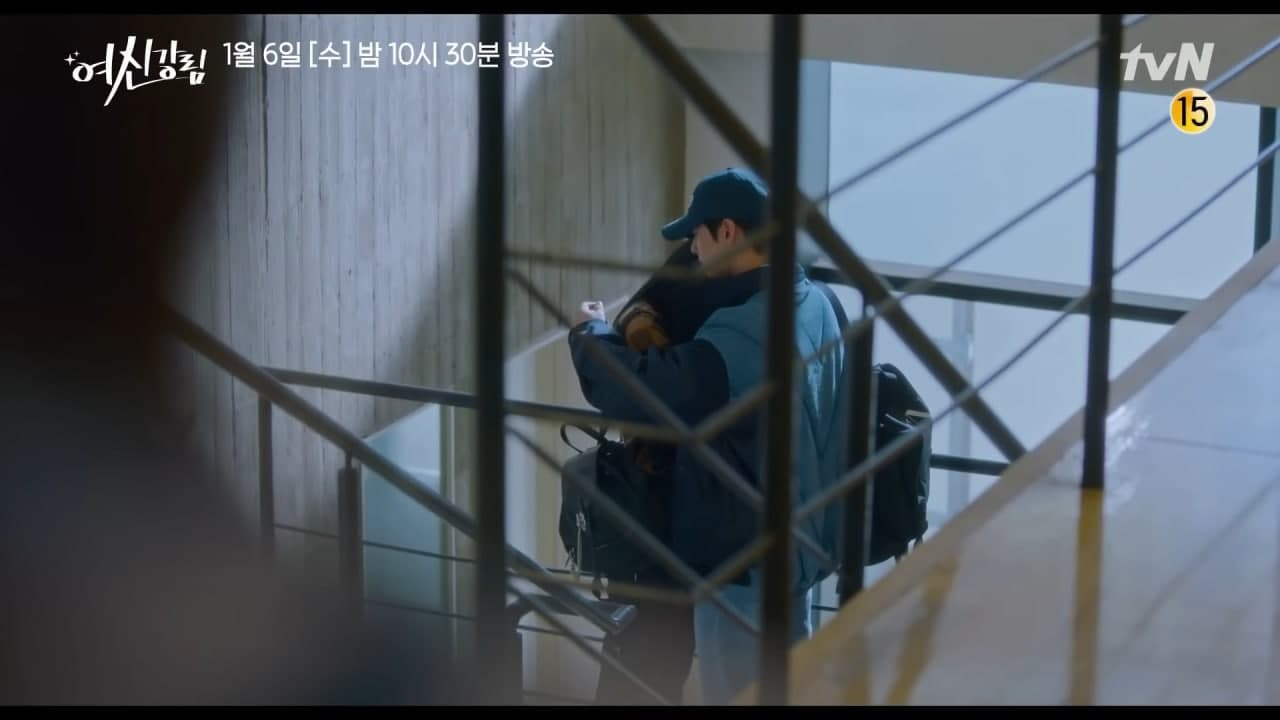 Ju Kyung gets crushed when she sees Suho hugging another girl - Scene 2
