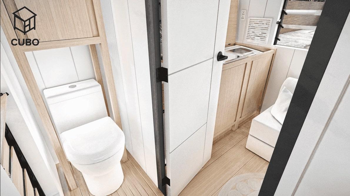 Batanes Interior: Bathroom by CUBO Modular