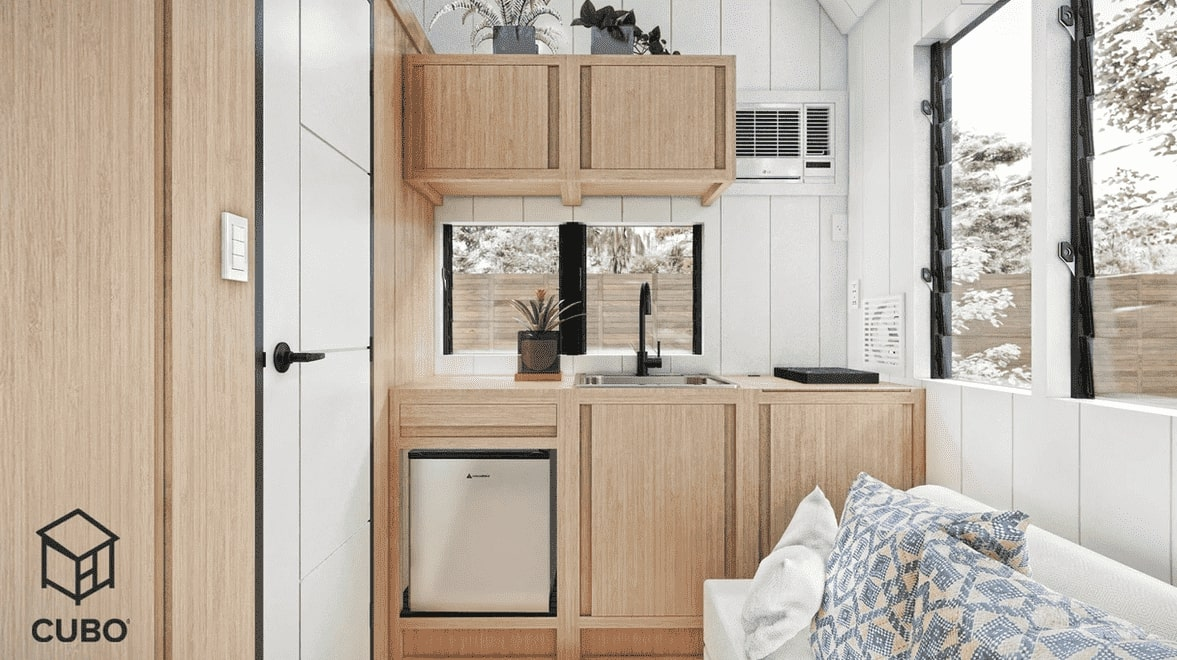 Batanes Interior: Kitchen by CUBO Modular