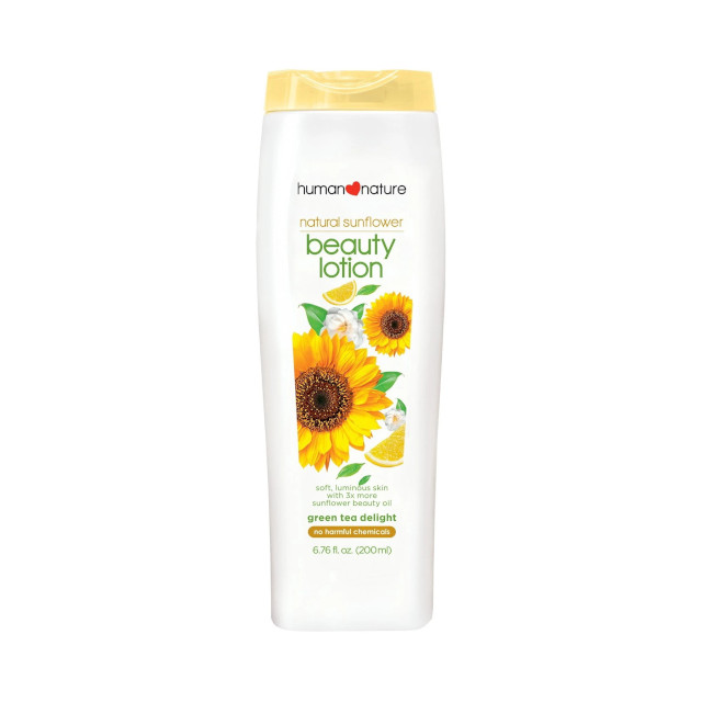 Best Body Lotions: Human Nature Sunflower Beauty Lotion