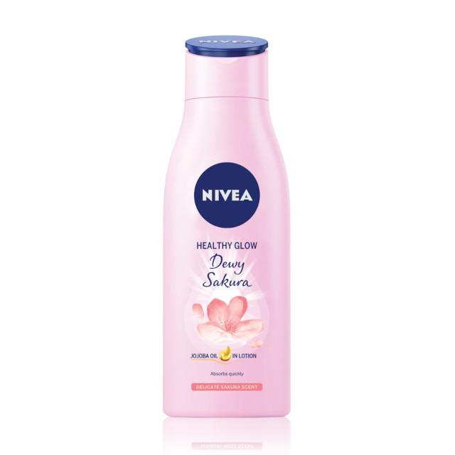 Best Body Lotions: Nivea Body Healthy Glow Dewy Sakura