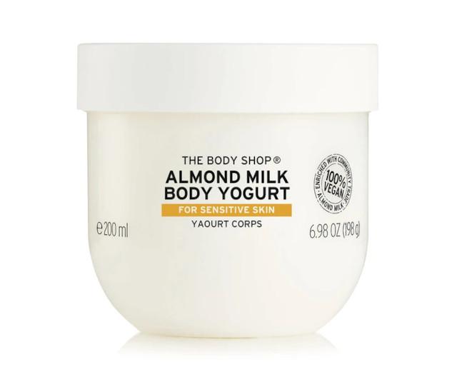 Best Body Lotions: The Body Shop Almond Milk Body Yogurt