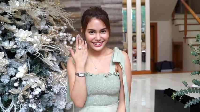 Ivana Alawi Gave Herself A Diamond Ring For Her Birthday