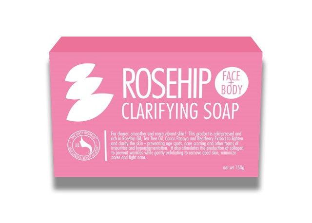 Best rosehip oil product: One Earth Organics Ultra Clarifying Rosehip Soap