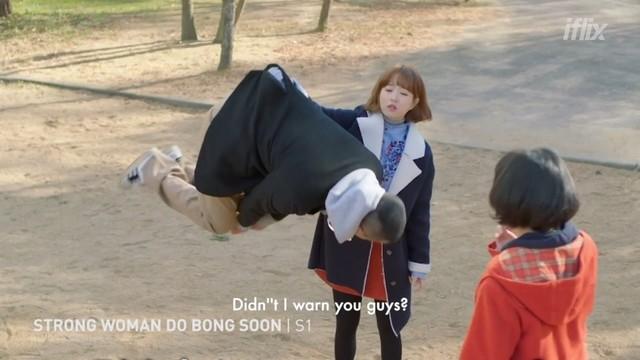 Strong Woman Do Bong Soon - Park Bo Young as Do Bong Soon