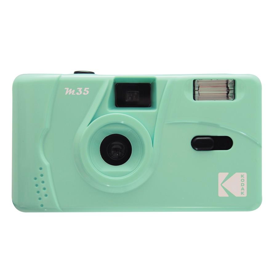 The Kodak M35 Film Camera in Mint Green