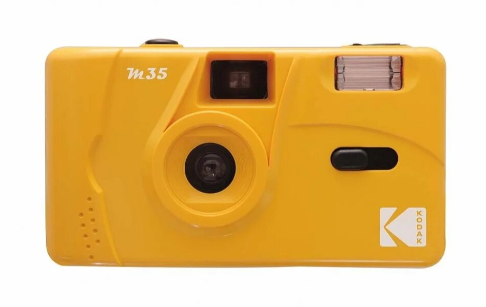 The Kodak M35 Film Camera in Yellow