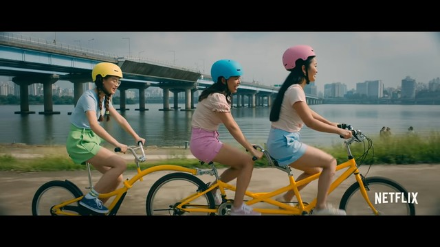 The Song-Covey fam going to Korea - Cycling scene