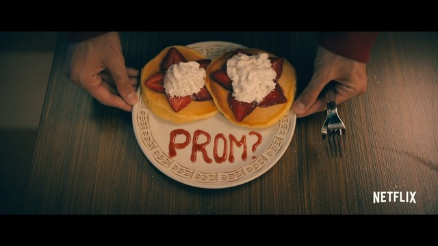 The promposal strawberry pancakes