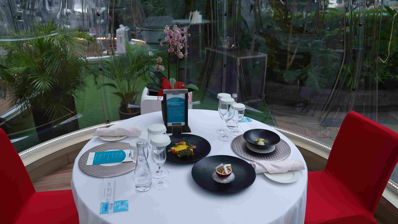 Vubble, Sheraton Hotel Manila