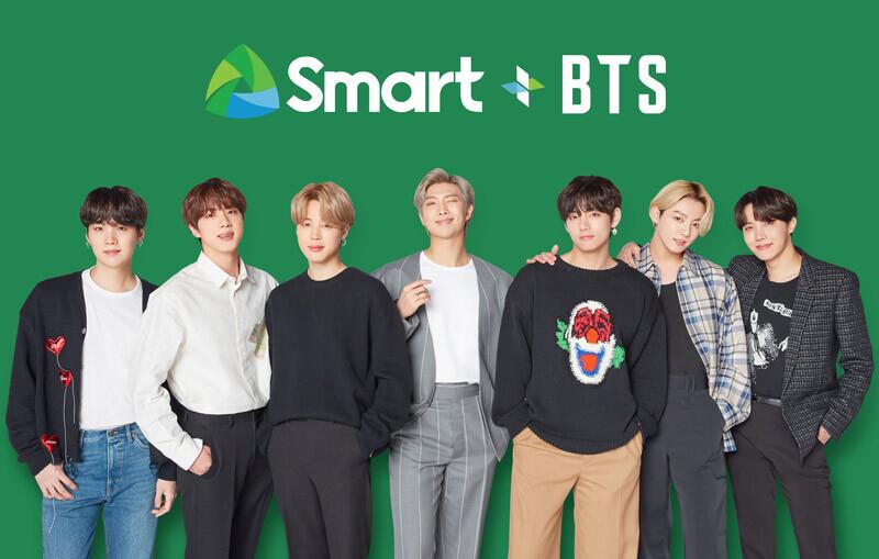 BTS is Smart Communications' new ambassadors