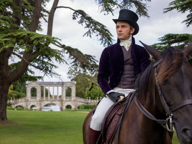 Bridgerton Horse riding lesson