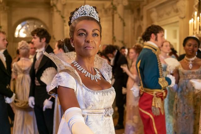Bridgerton - Adjoah Andoh as Lady Danbury
