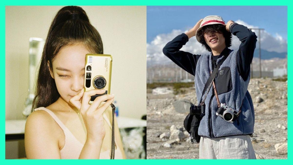 Korean celebrities who love film photography