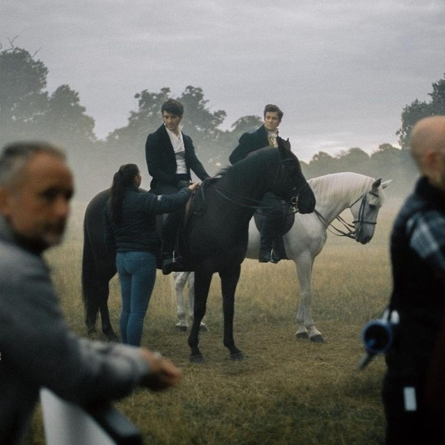 Bridgerton Horse Riding Scene